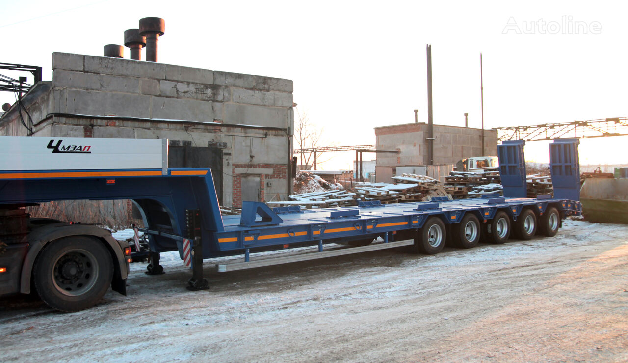 new CHMZAP 99904-011-NUS low bed semi-trailer