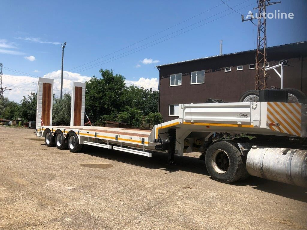 new CODER SPE60.3 low bed semi-trailer