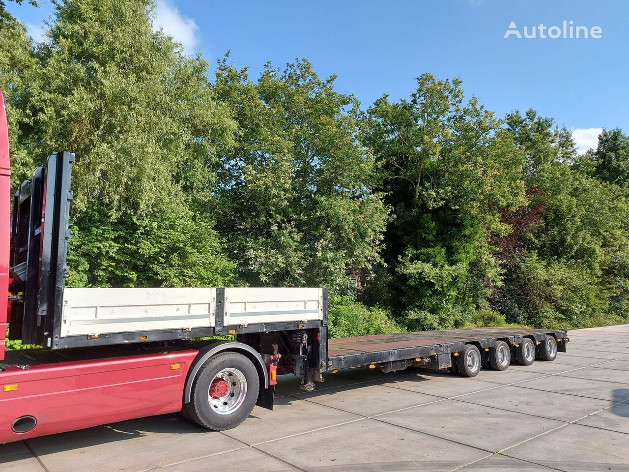 DOLL S4H-N low bed semi-trailer