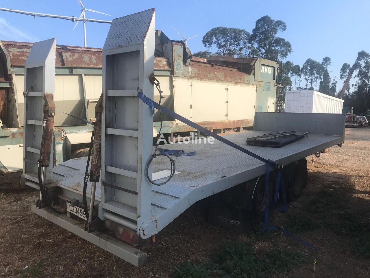 DON BUR /Low loader machinery transport/ low bed semi-trailer
