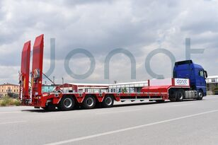 new DONAT 3 axle Lowbed Semitrailer - Aspock low bed semi-trailer