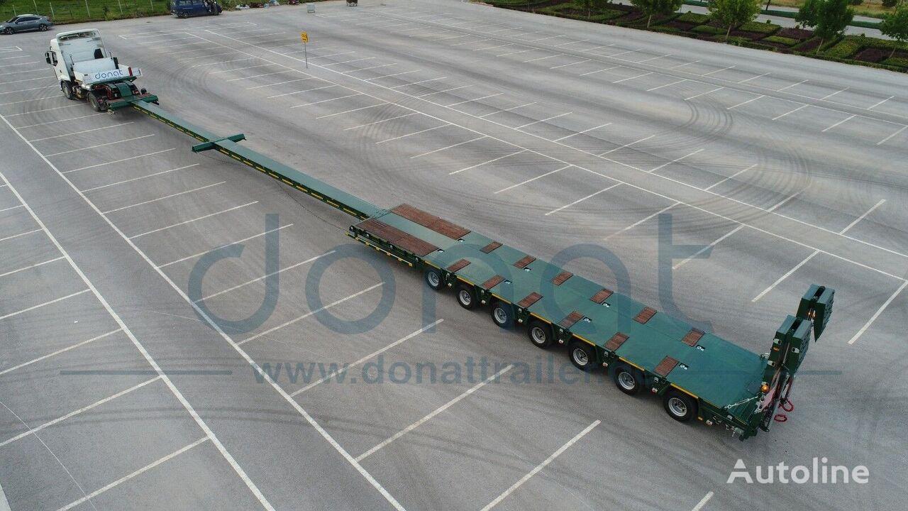 new DONAT gidravlicheskiy nizkoramnyy tral s teleskopicheskim udline low bed semi-trailer