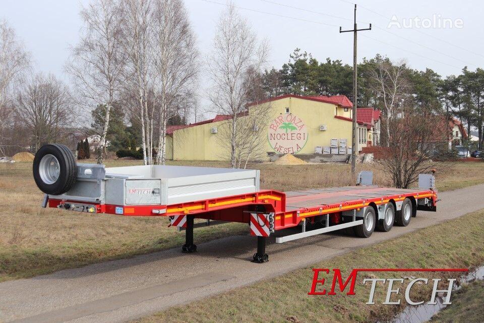 new EMTECH SERIA NNP model 3.NNP-S-1N (NA) - Prosta low bed semi-trailer