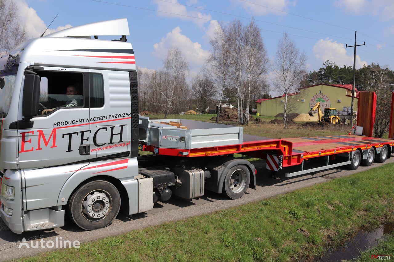 new EMTECH SERIA NNP model 3.NNP-S-1N (NH2) - Prosta low bed semi-trailer