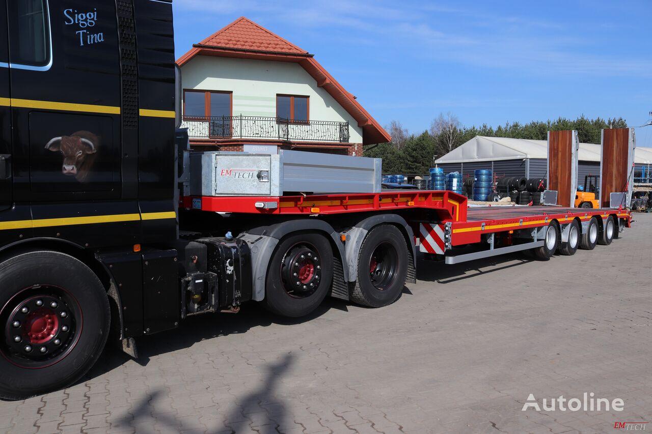 new EMTECH SERIA NNP model 4.NNP-S-2N (NH2) - Prosta low bed semi-trailer