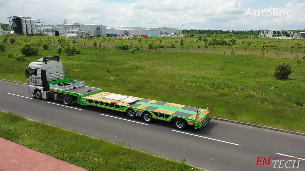 new EMTECH SERIA NNZ-R model 3.NNZ-1R-1N (NA, MG, ZP, ZO) - pod ciągnik MEG low bed semi-trailer
