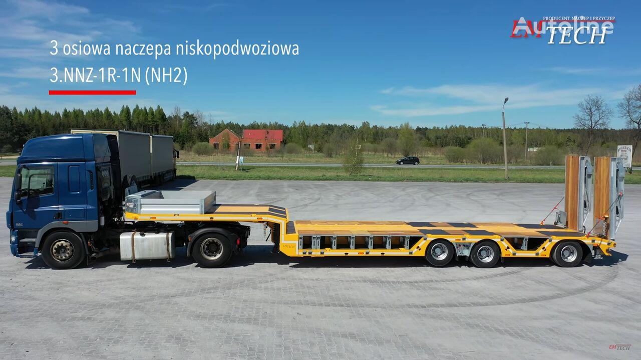 new EMTECH SERIA NNZ-R model 3.NNZ-1R-1N (NH2) Zagłębiana, Rozciągana low bed semi-trailer