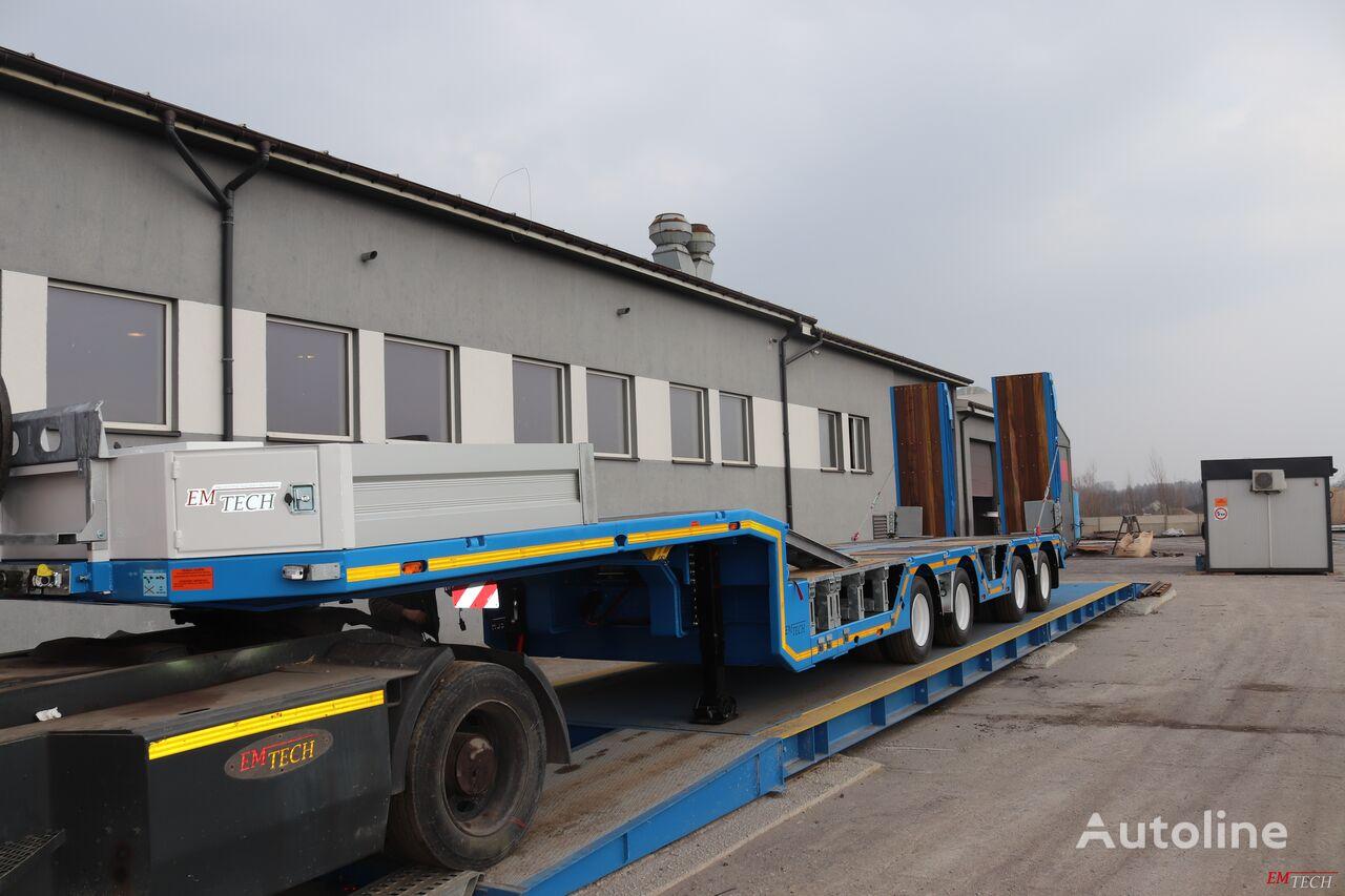 new EMTECH SERIA NNZ-R model 4.NNZ-1R-2N (NH2) - Zagłębiana, Rozciągana low bed semi-trailer