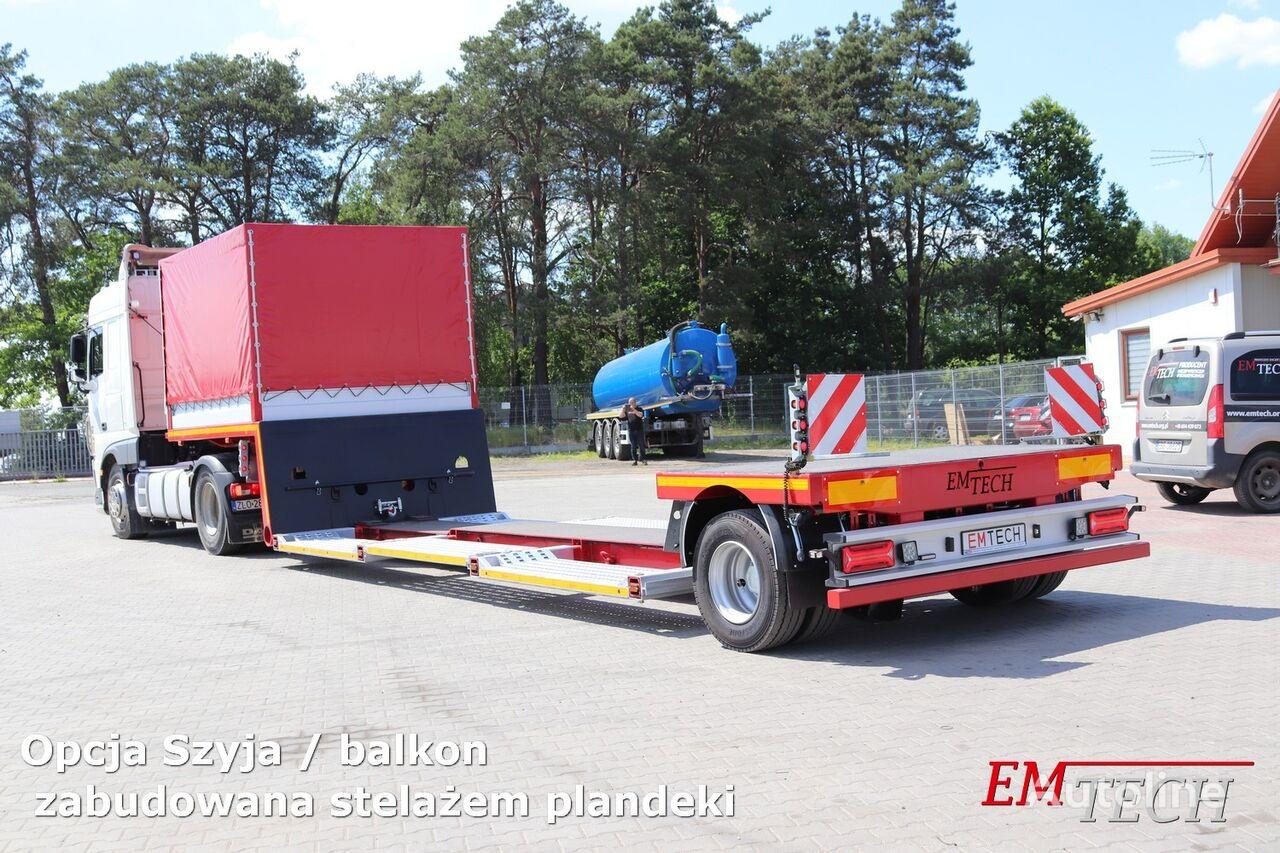new EMTECH SERIA NNZ model 1.NNZ-S-OW - Zagłębiana low bed semi-trailer