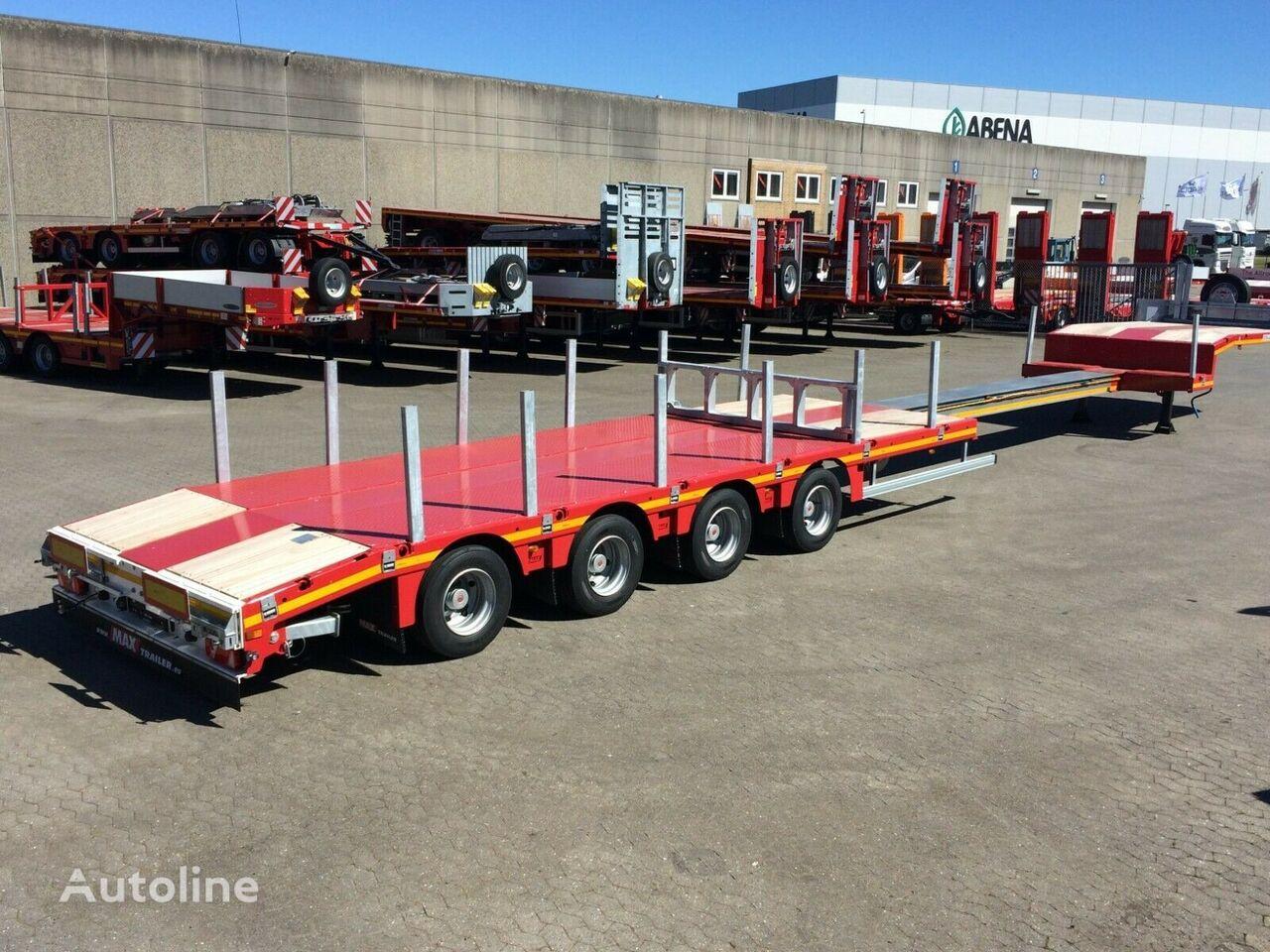 new FAYMONVILLE 6.200 mm telskob low bed semi-trailer
