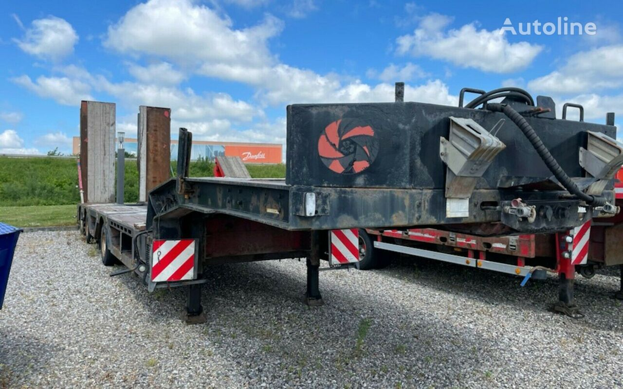 FAYMONVILLE tieflader / radmulde low bed semi-trailer