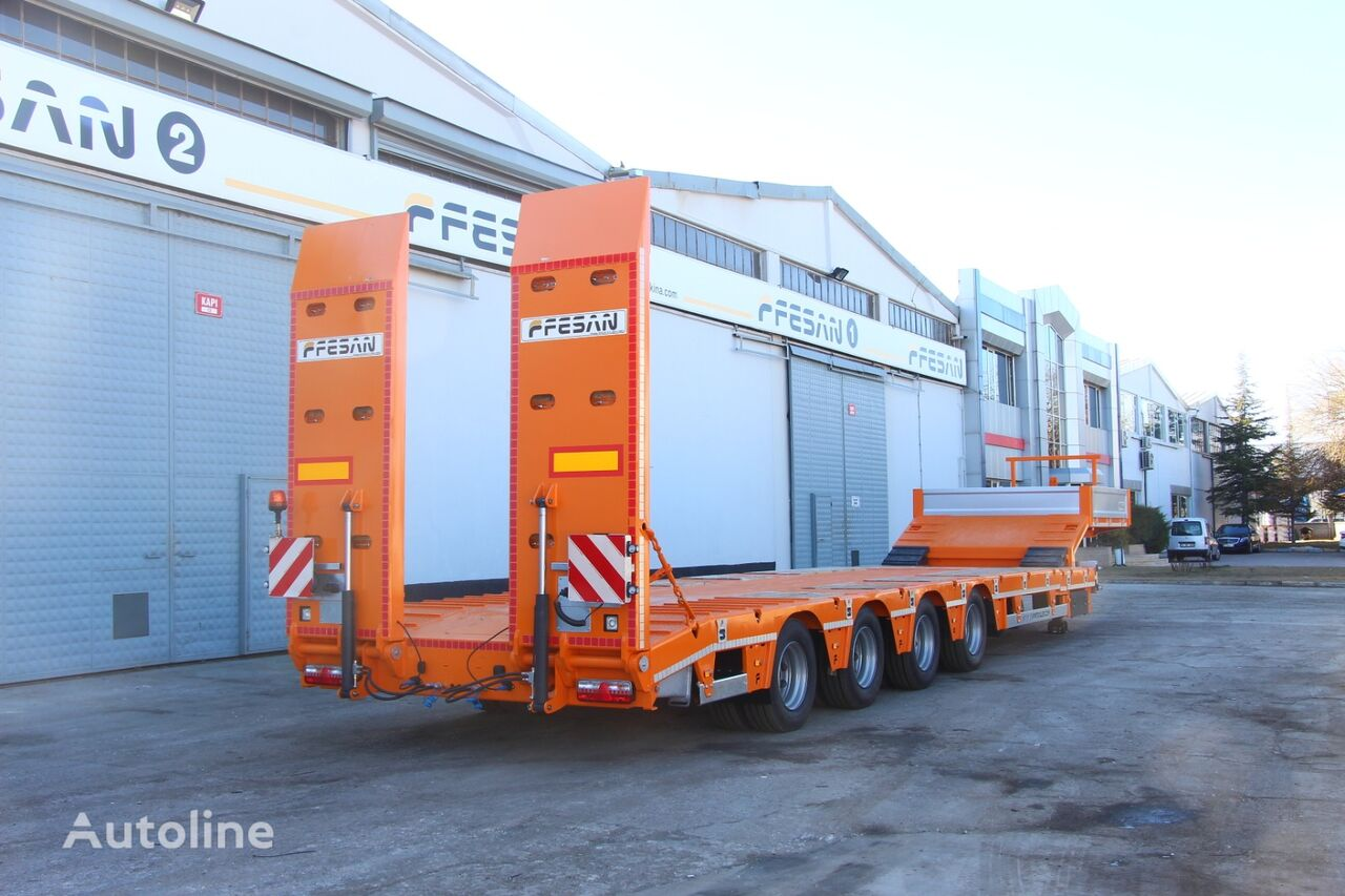 new FESAN 4 AXLES LOWBED low bed semi-trailer