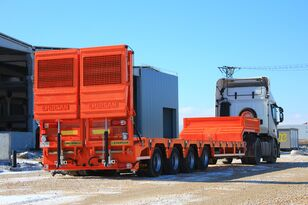 new GEWOLF 2-3-4-5 Axle Extendable Lowbed Trailers from Factory low bed semi-trailer
