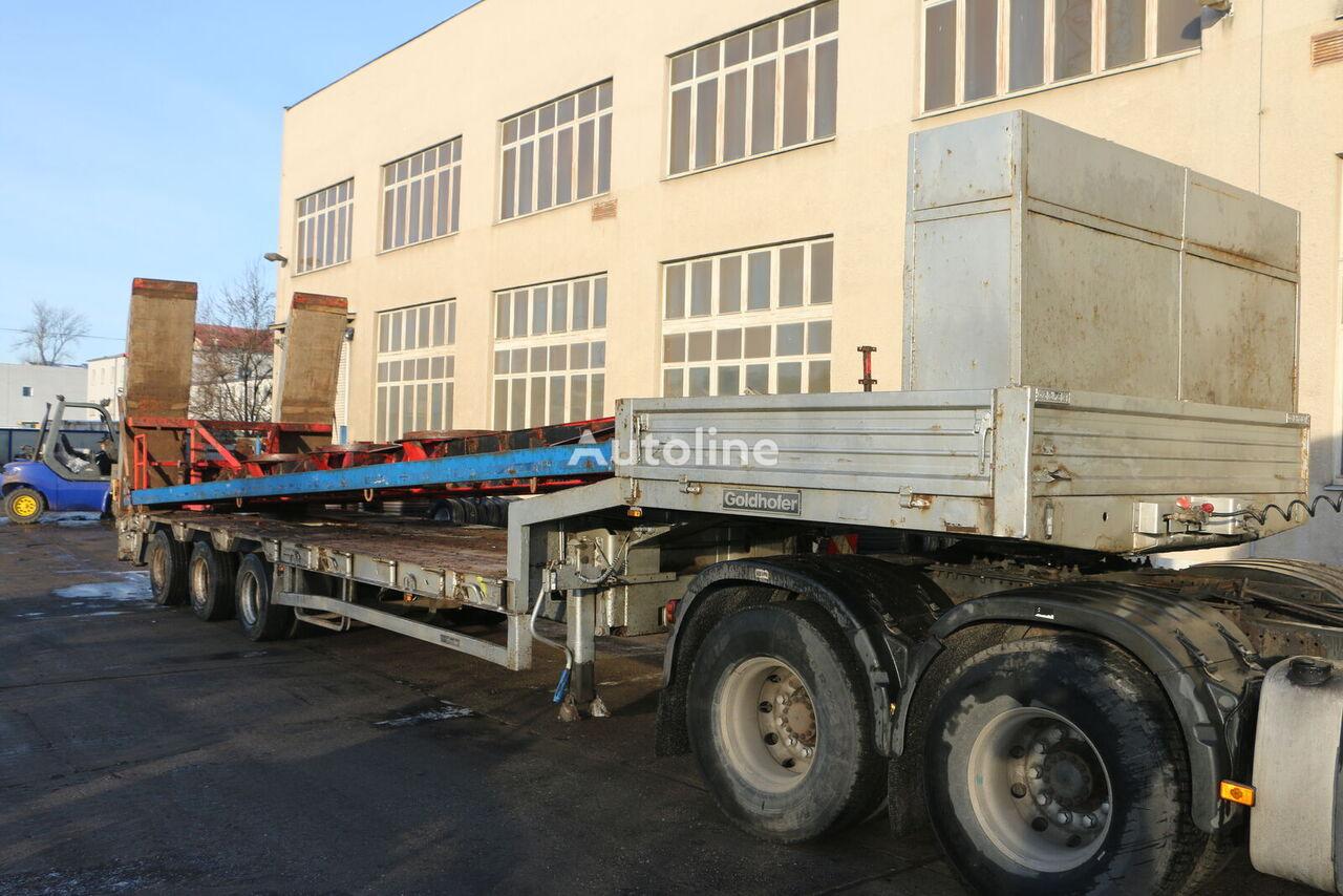GOLDHOFER STN - L3 low bed semi-trailer