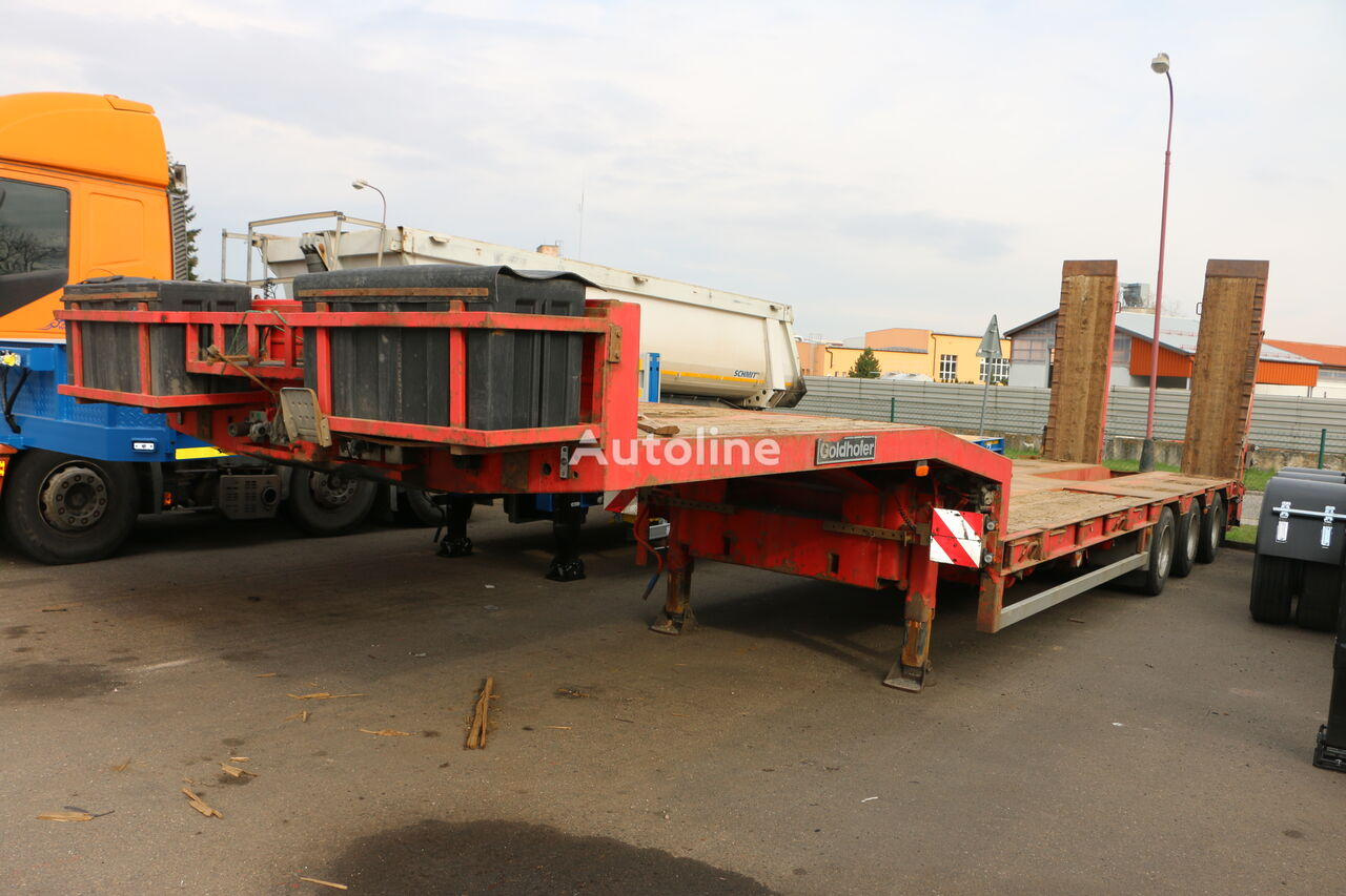 GOLDHOFER STN L3 - 3 axle fixed semitrailer low bed semi-trailer
