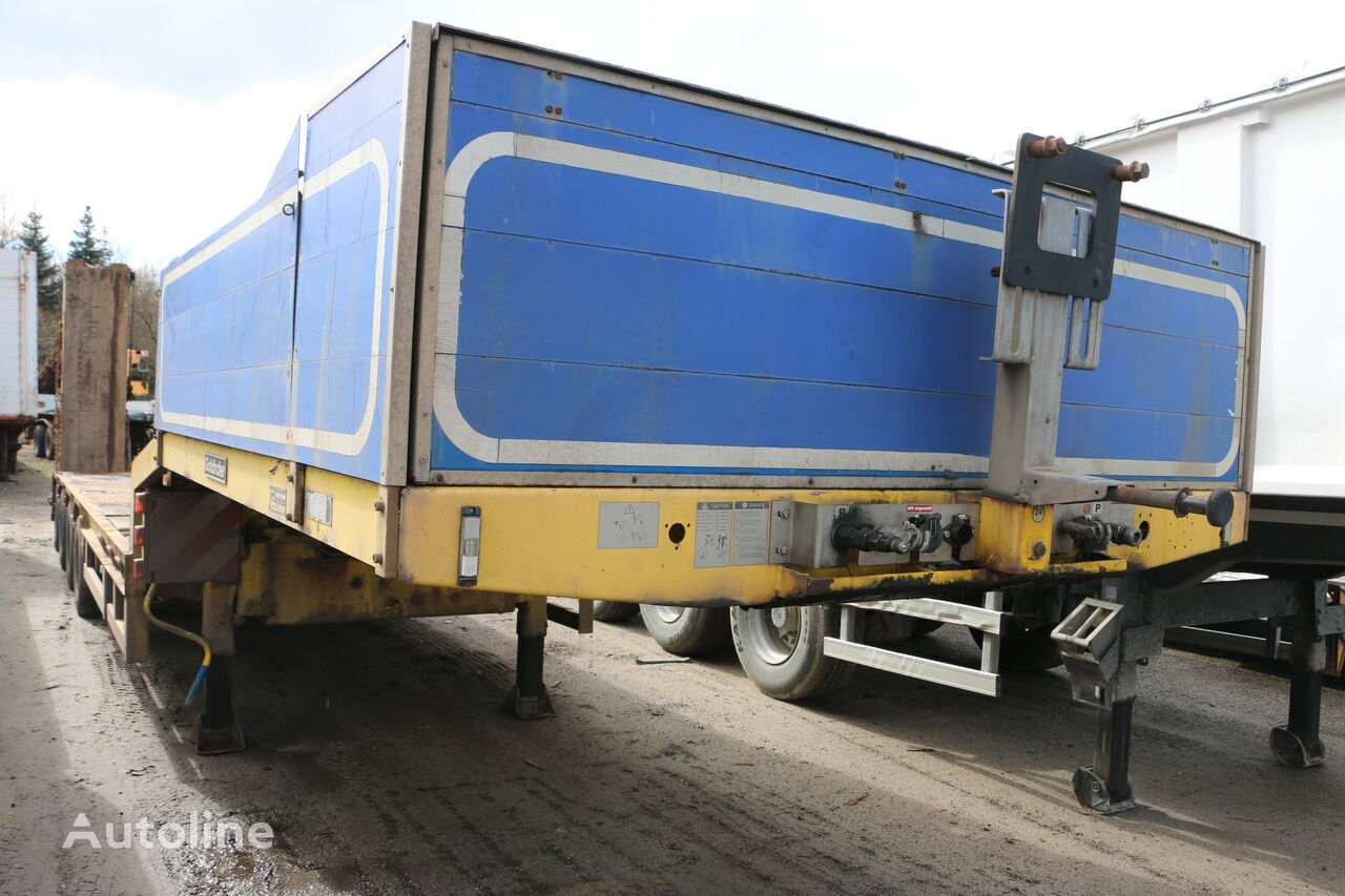 GOLDHOFER STN - L4  47/80 4-axle fixed trailer low bed semi-trailer