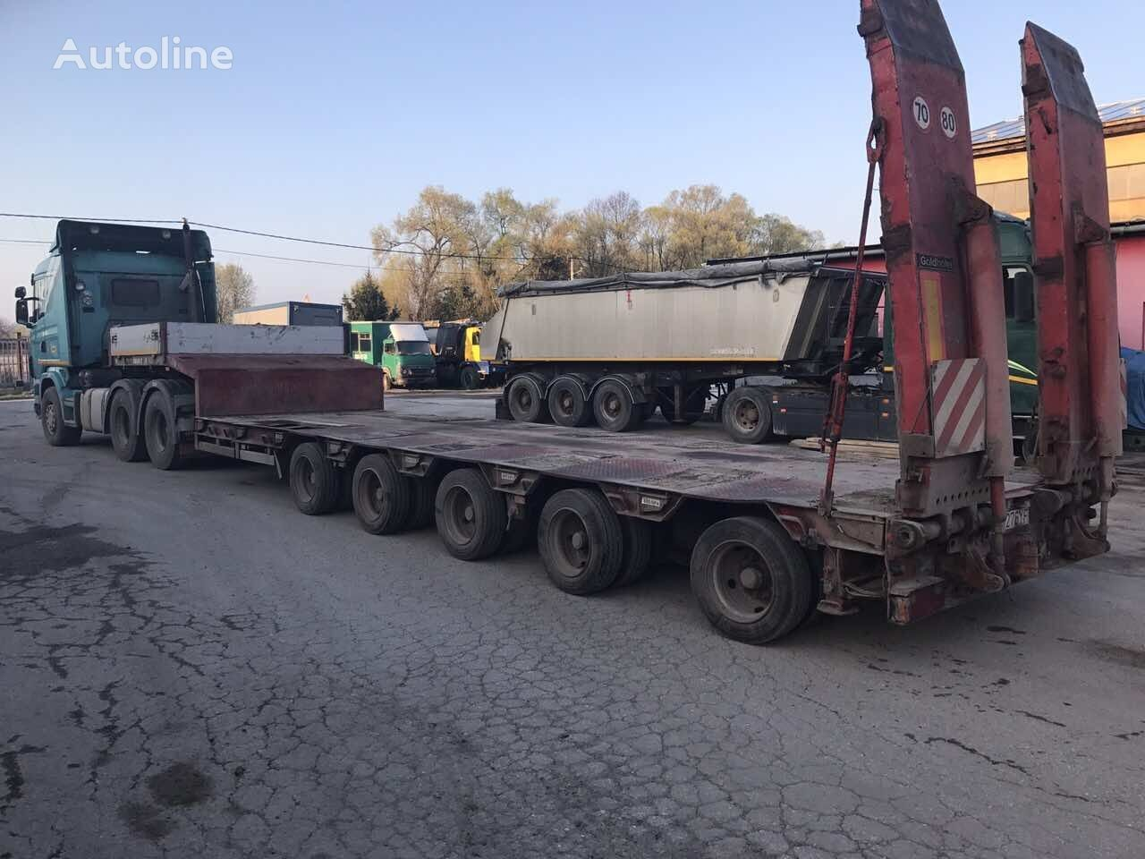 GOLDHOFER STZ-L5A low bed semi-trailer
