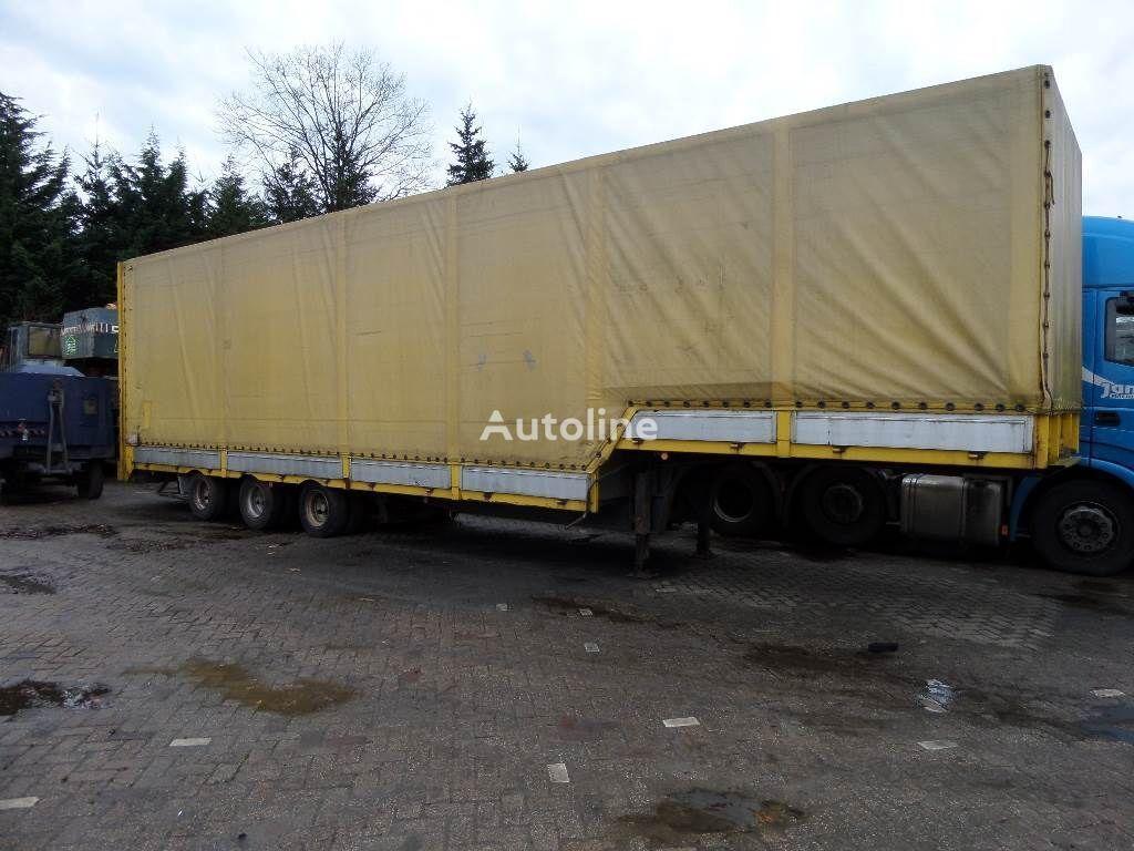 GROENEWEGEN 3 axle low bed semi-trailer