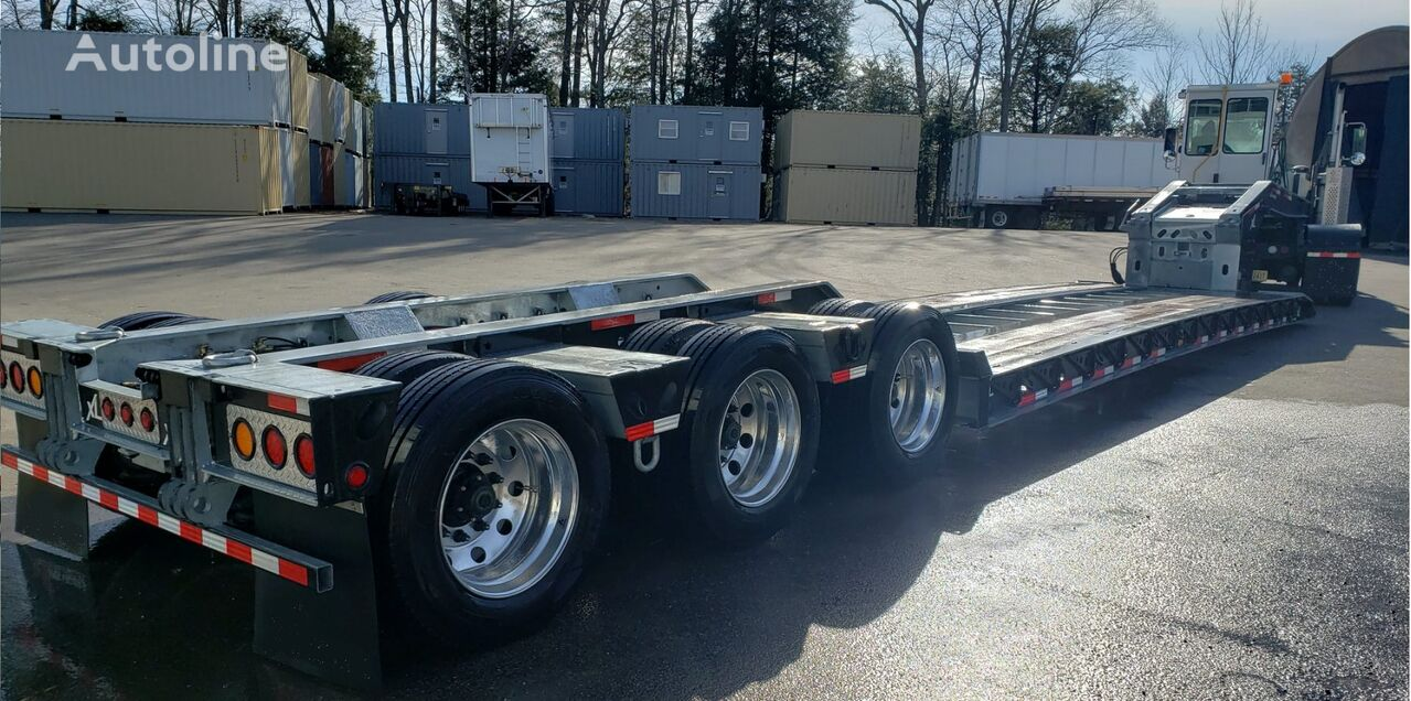 new Jeho 99981-02 tral low bed semi-trailer