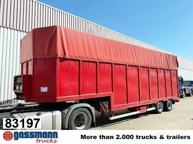 LANGENDORF SATUE 20/24 SATUE 20/24 mit durchgehender hydr. Rampe low bed semi-trailer