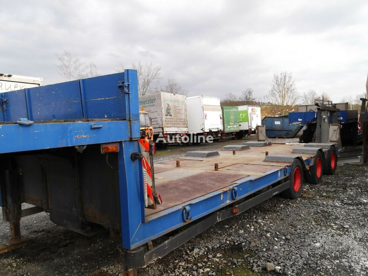 LANGENDORF WLASAT345VWF52504 low bed semi-trailer