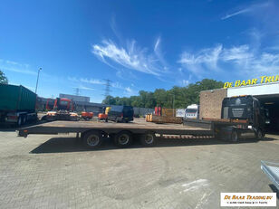 LinTrailers 3 assige semi oplegger uitschuifbaar 6 mtr laatste as sturend low bed semi-trailer