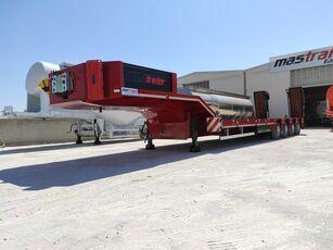 new MAS TRAILER TANKER NEW 4 AXLE LOWBED SEMI TRAILER FROM MANUFACTURER low bed semi-trailer
