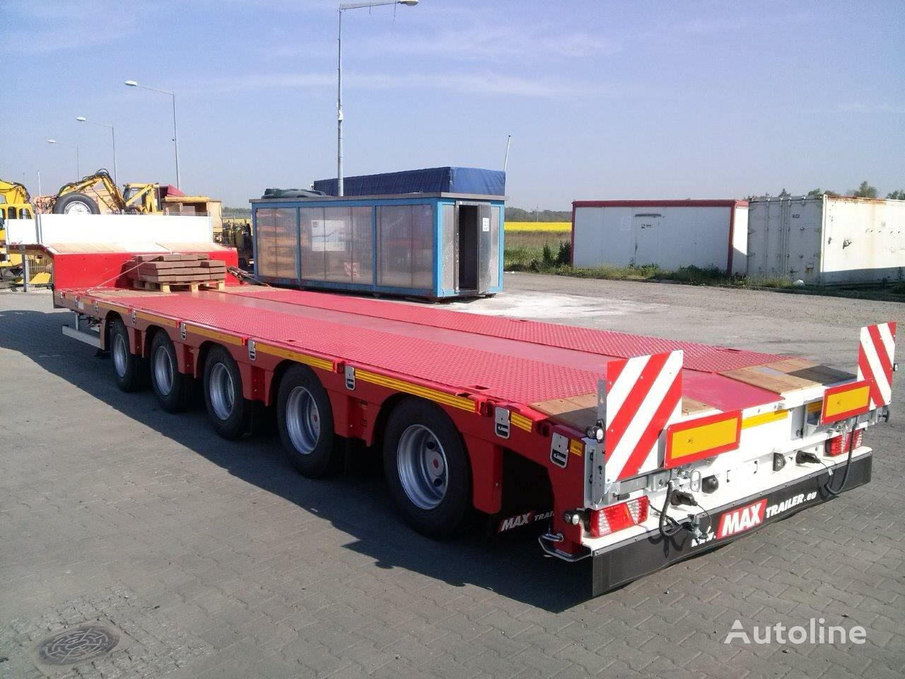 new MAX Trailer 100-N-5A-9.30 low bed semi-trailer