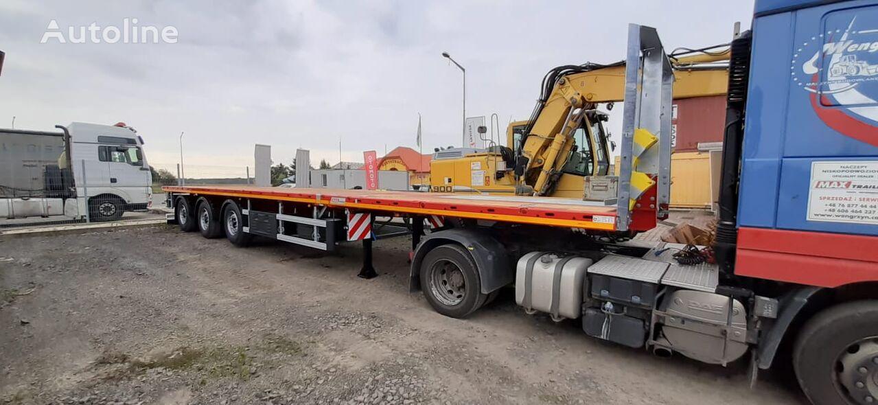 new MAX Trailer  2 x rozciąganai low bed semi-trailer