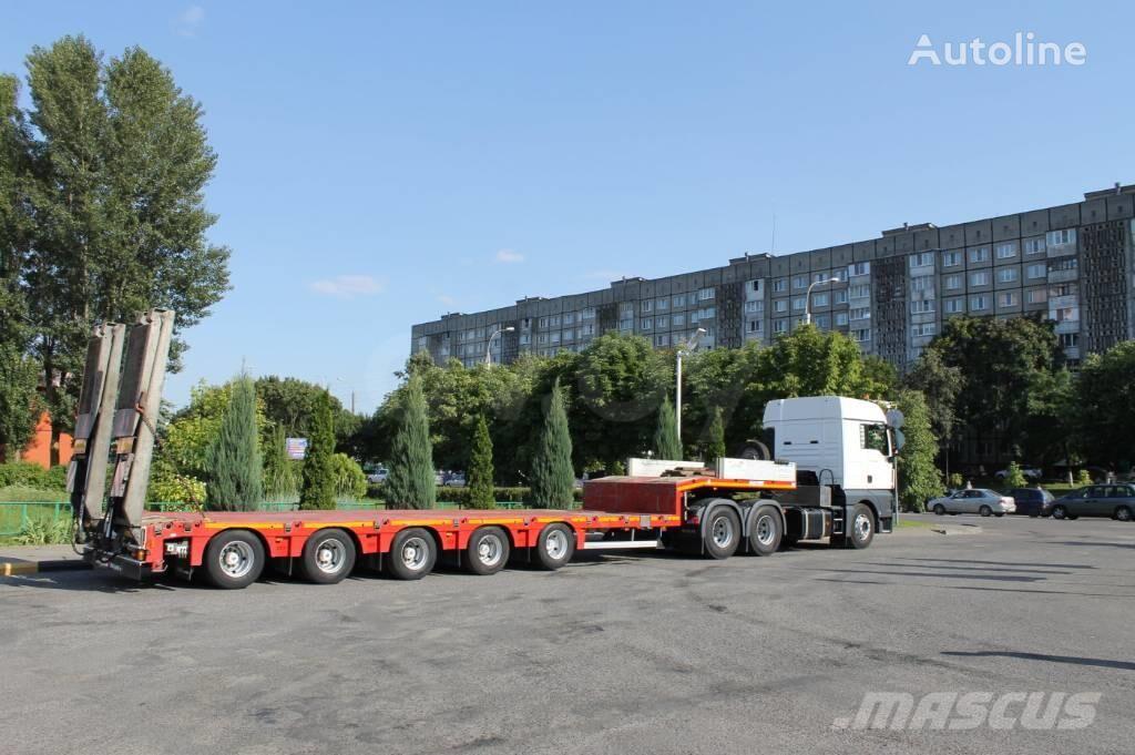 MAX Trailer F-S45 low bed semi-trailer