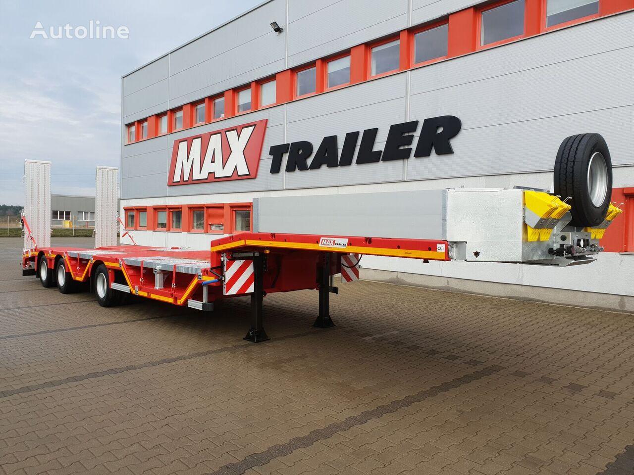 new MAX Trailer MAX100-N-3-9.30-RM-M-U low bed semi-trailer