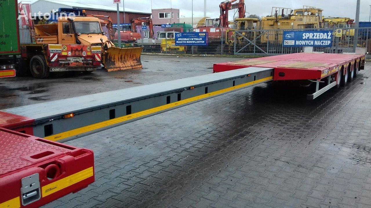 new MAX Trailer Naczepa 4 osiowa MAX low bed semi-trailer
