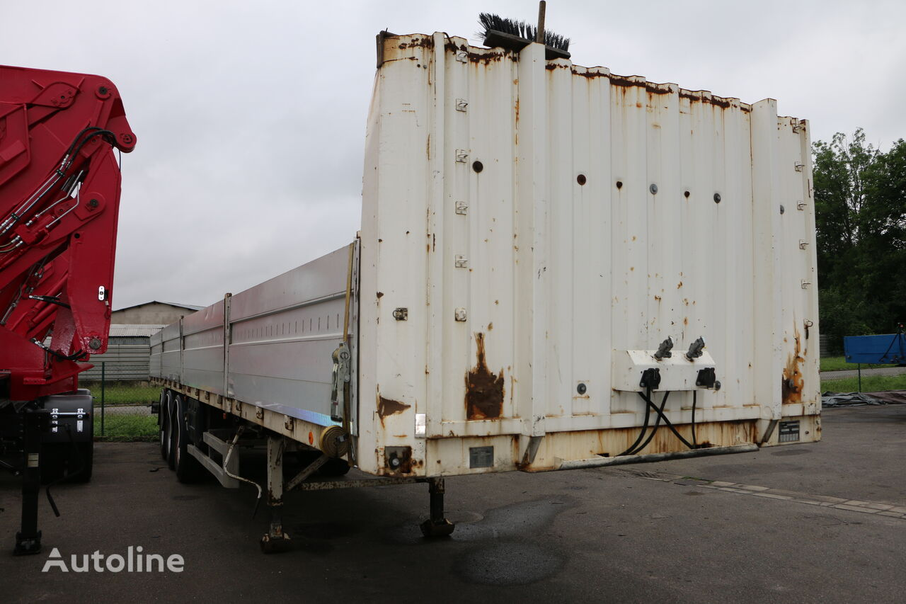 METACO NV 34.27.24. STEU - 3axle plato trailer low bed semi-trailer