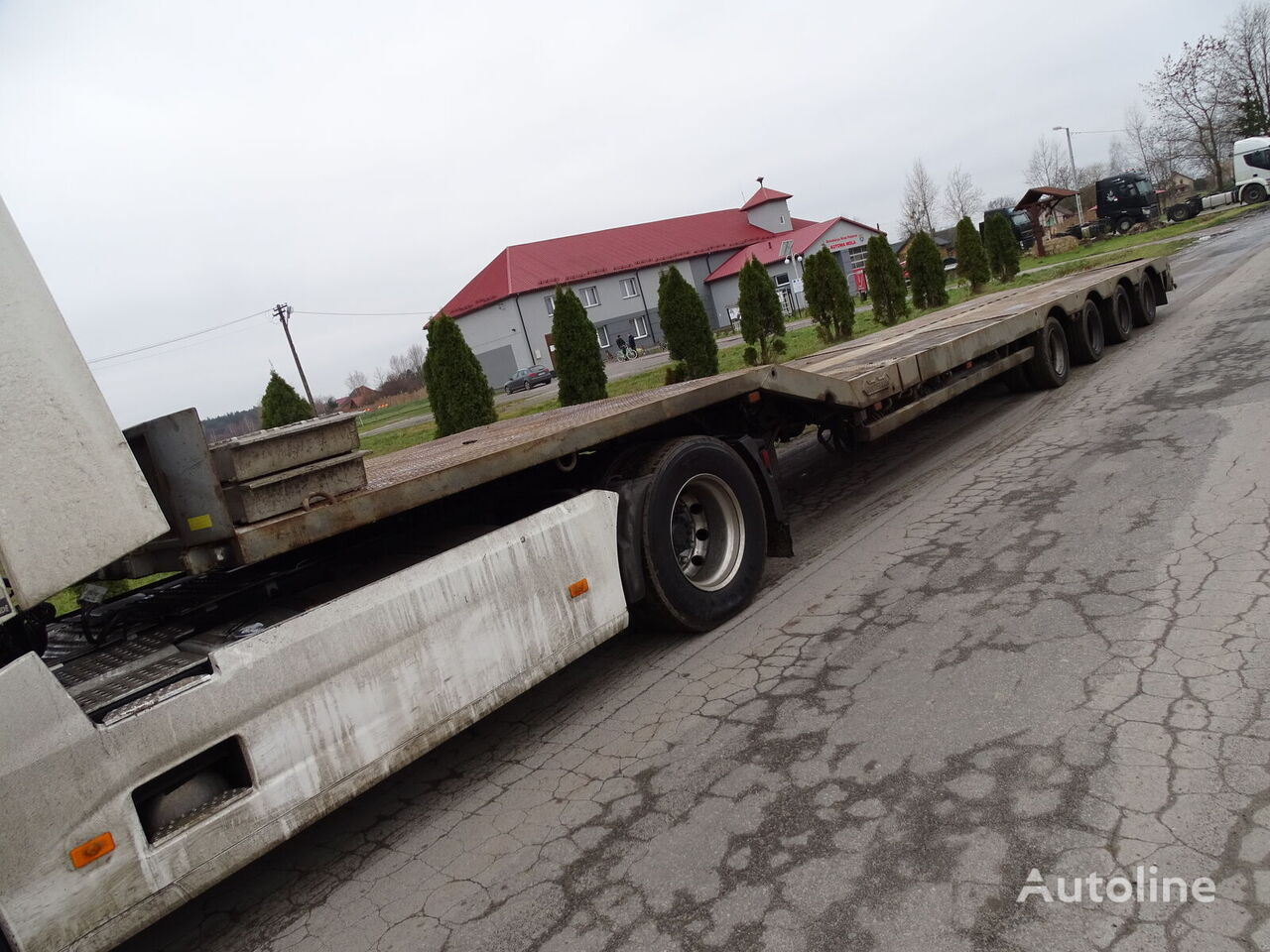 NOOTEBOOM OSD-48-04V low bed semi-trailer
