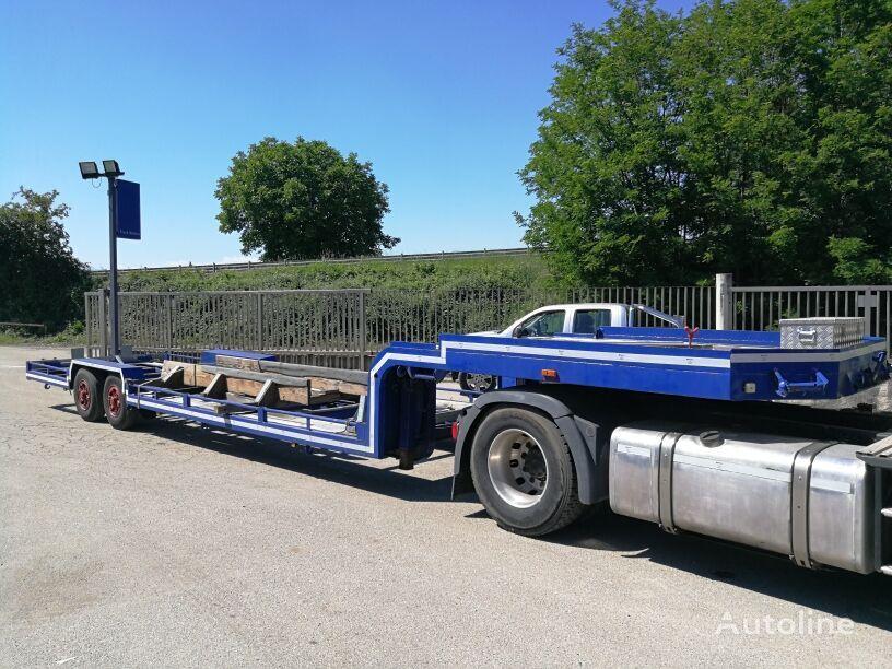 PIACENZA TRASPORTO BARCHE USO INTERNO / BOAT TRANSPORT   low bed semi-trailer