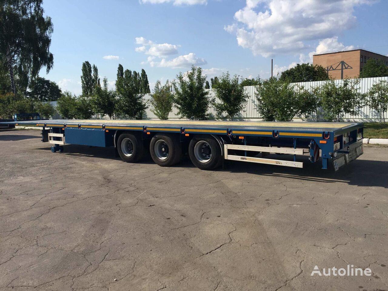 new TAD Mega 40-4 low bed semi-trailer