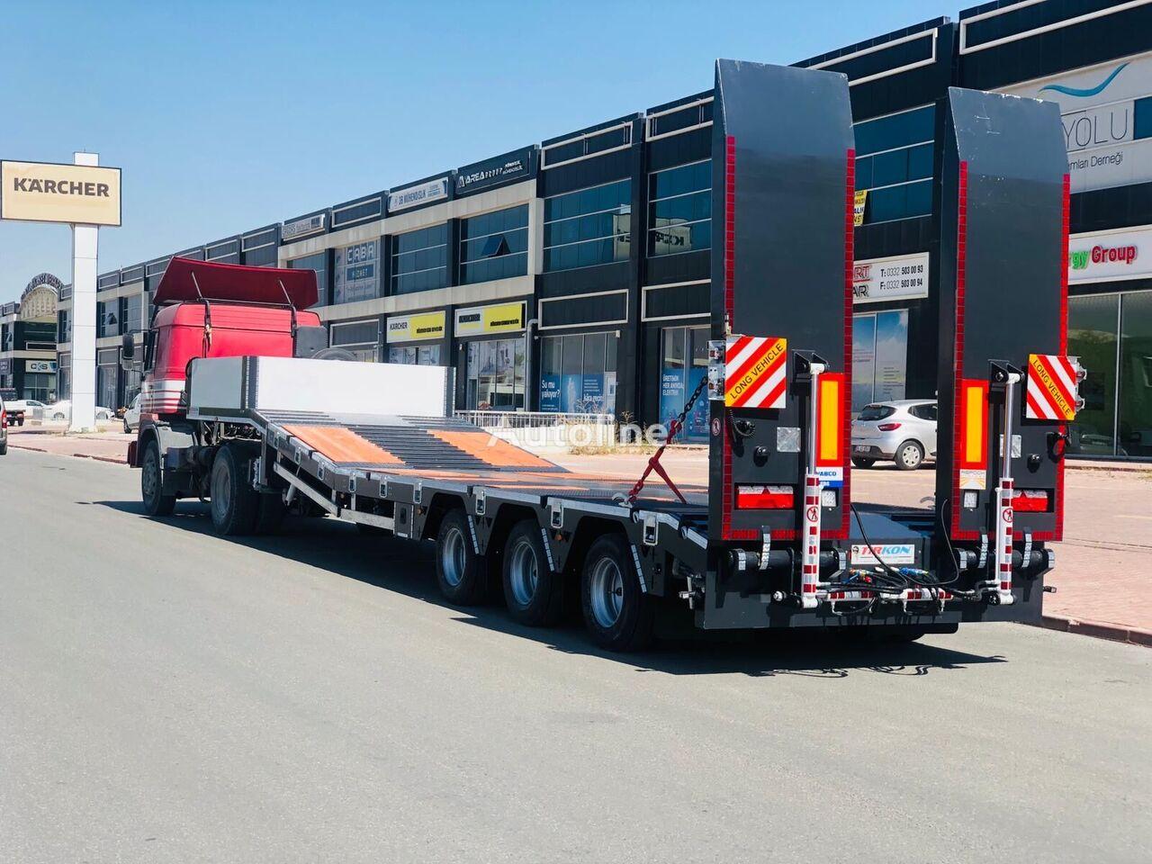 new TIRKON low bed semi-trailer