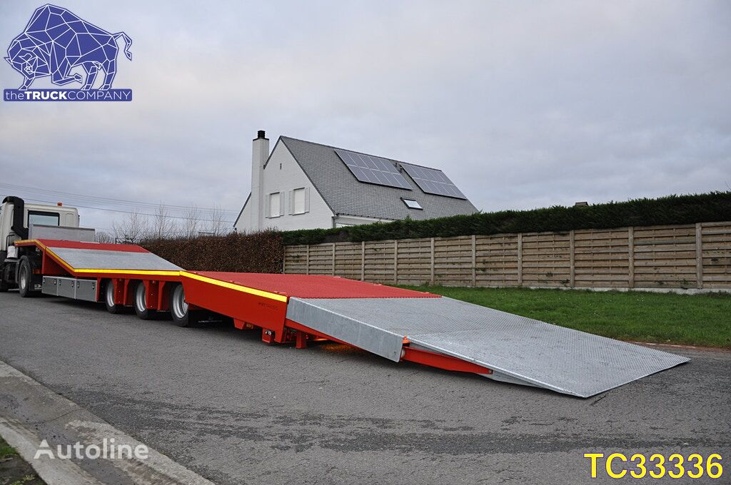 Turbos Hoet Special Ramp Flatbed low bed semi-trailer