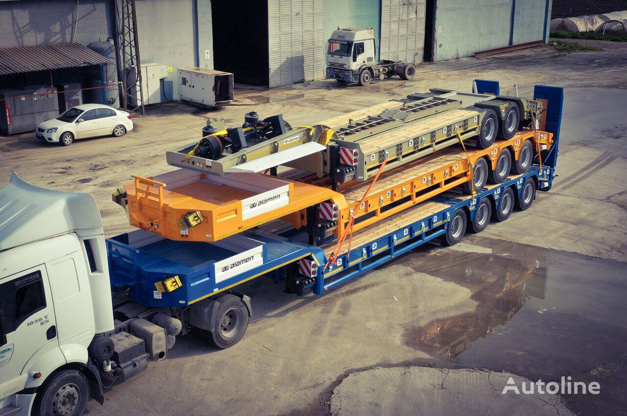 new ALAMEN LOWBED TRİLER 2-3-4-5-6 AXLE low bed semi-trailer
