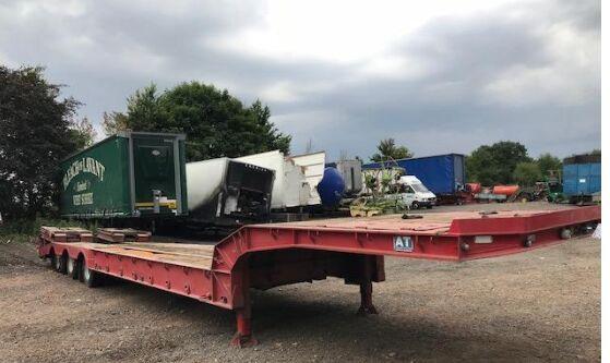 ANDOVER TRAILER  low bed semi-trailer