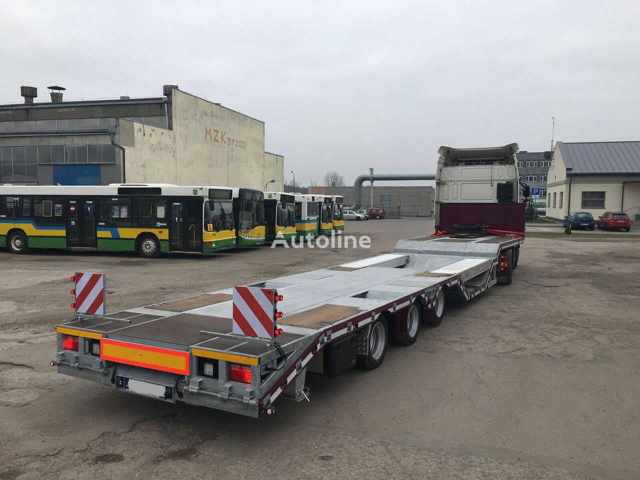 new ATC ANN3/Z low bed semi-trailer