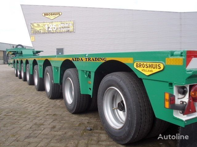 new BROSHUIS low bed semi-trailer