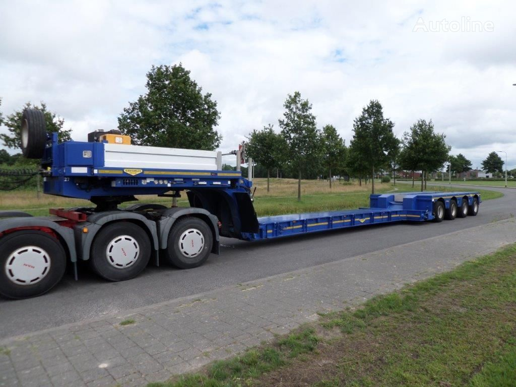 BROSHUIS 4 ABD 48 extendable low loader low bed semi-trailer