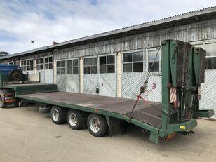 BURG BPDO 12-24 low bed semi-trailer