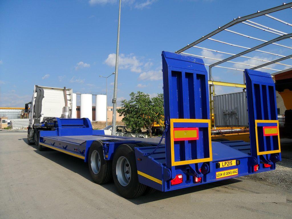 new CEYLAN 2 AXLES 2018 low bed semi-trailer