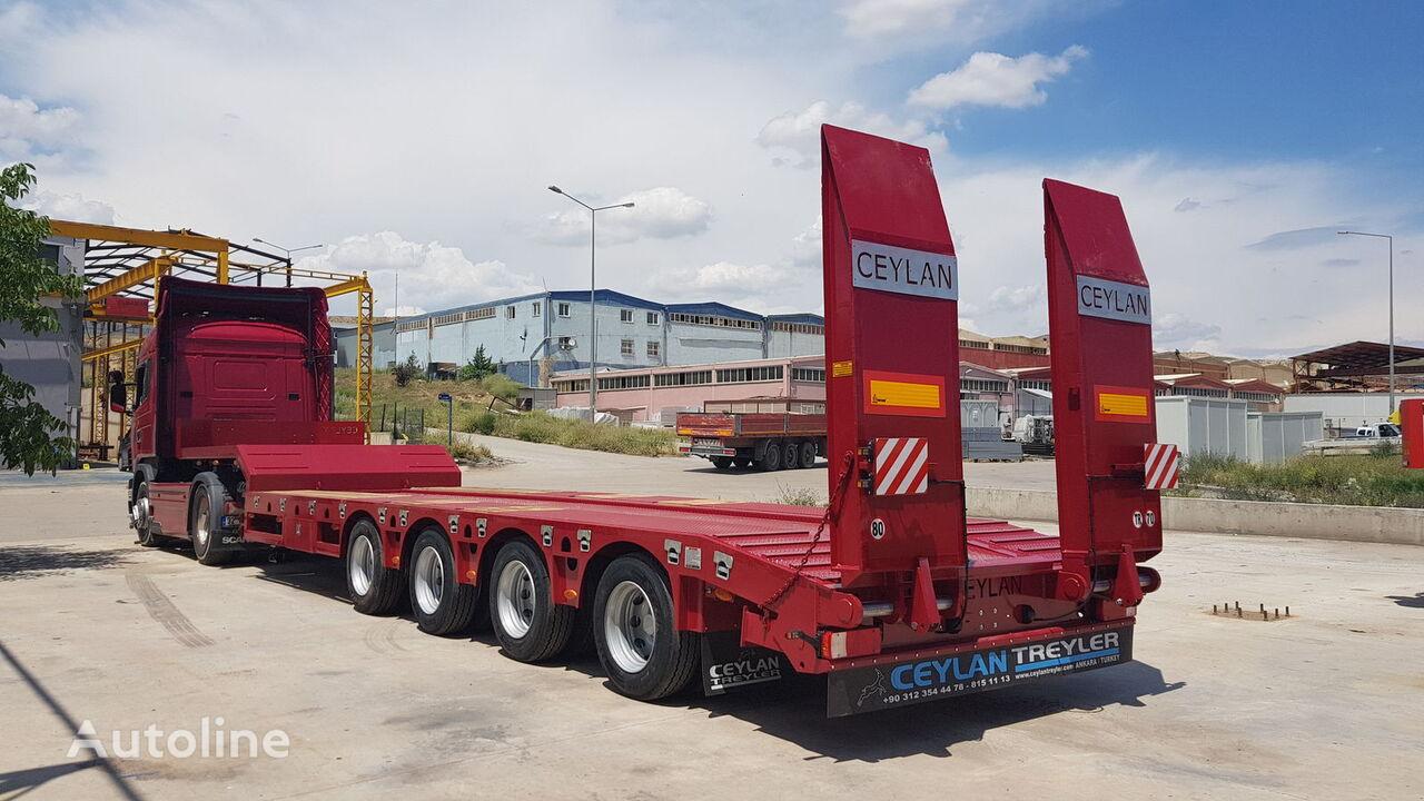 new CEYLAN 4 AXLES 2018 low bed semi-trailer