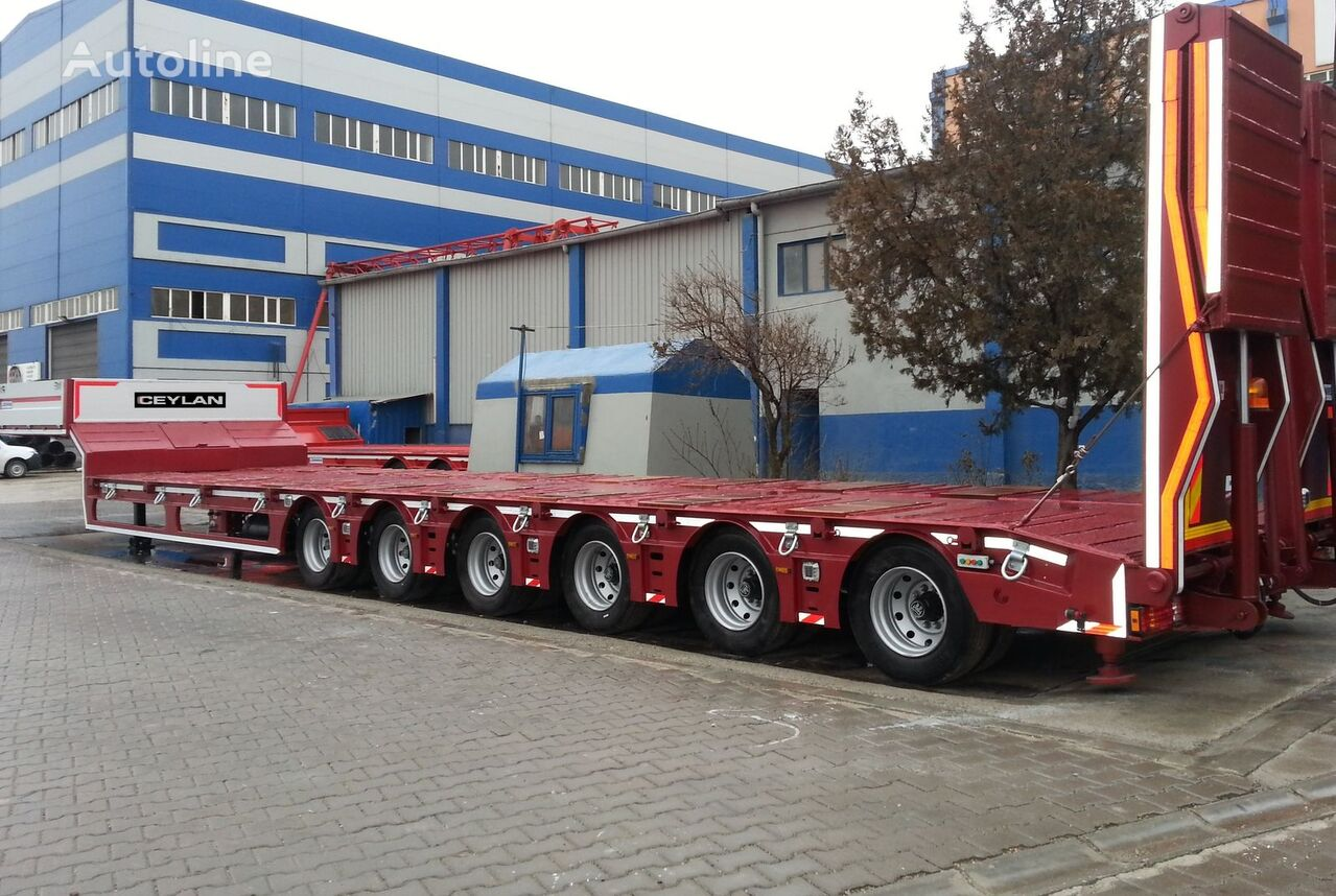 new CEYLAN 6 AXLES 2018 low bed semi-trailer
