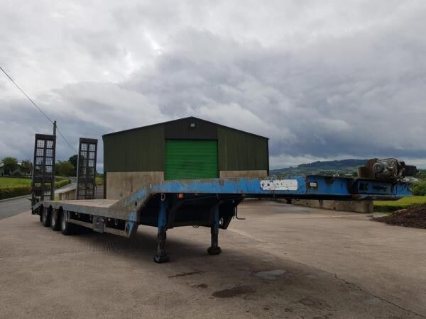CHIEFTAIN Low Loader  low bed semi-trailer