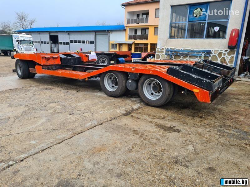 DAF  ATW16-24/1NL low bed semi-trailer