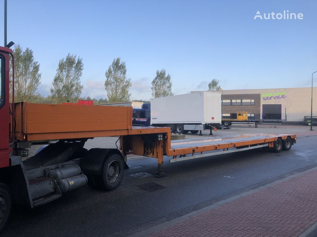 DOLL Power steering - 12 mtr lowbed !! low bed semi-trailer